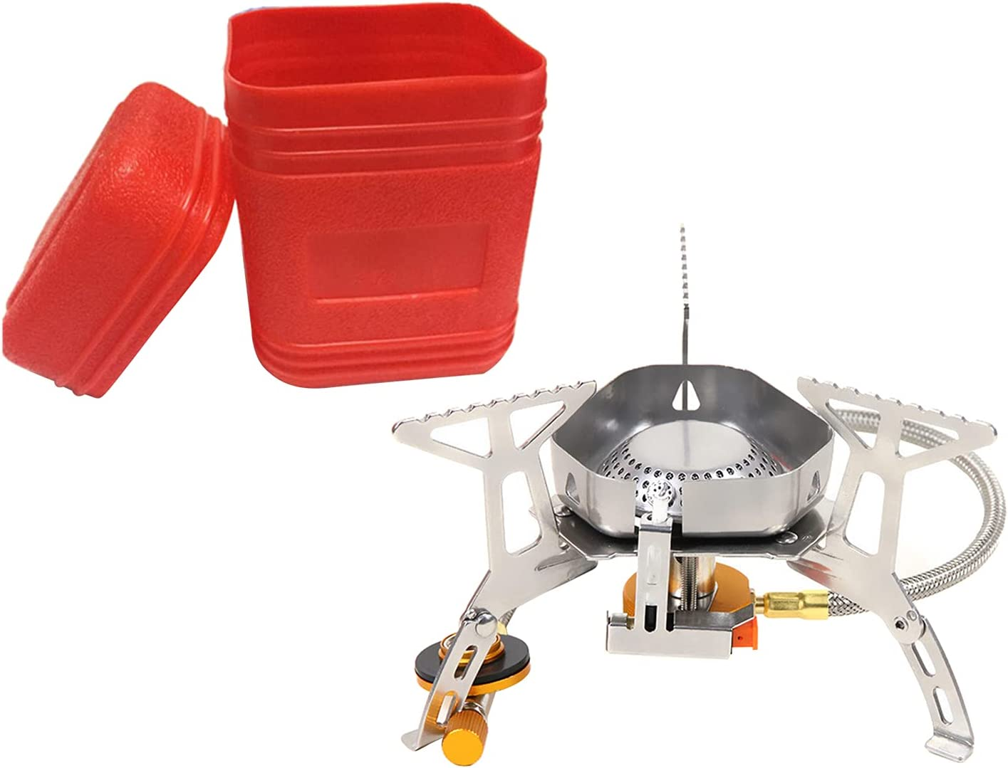 NEWMIND Finally resale start Portable Camping Gas Stove Mini S Backpacking outlet Windproof