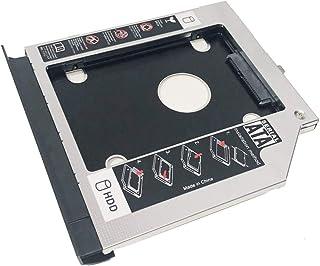 NIGUDEYANG 2nd HDD SSD Hard Drive Optical Frame Caddy Adapter for Lenovo ThinkPad E550 E550C E555 E560 E565 only with Beze...
