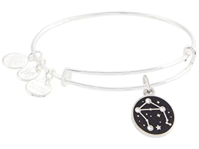 Alex and Ani Color Infusion Libra Bangle Bracelet (Shiny Silver) Bracelet