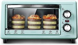 Horno eléctrico automático para el hogar - Secadora de frutas y verduras - 11L - 800W - Temporización de 60 minutos - Calefacción de doble tubo - Con parrilla, bandeja para hornear y guantes anti esc
