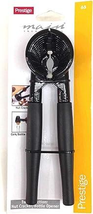 Prestige Nut Cracker and Cork/Bottle Opener, Black - PR65
