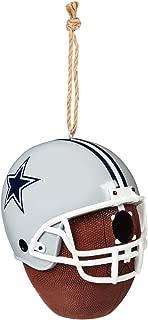 Team Sports America NFL Team Logo and Ball Hanging Birdhouse
