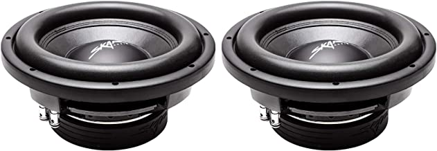 "(2) Skar Audio VD-10 D2 10"" 800W Max Power Dual 2 Ohm Shallow Mount Subwoofers, Pair.."