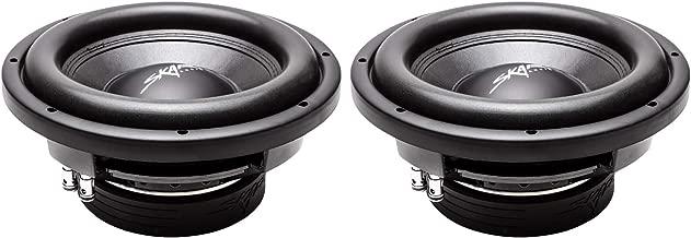 (2) Skar Audio VD-10 D4 10