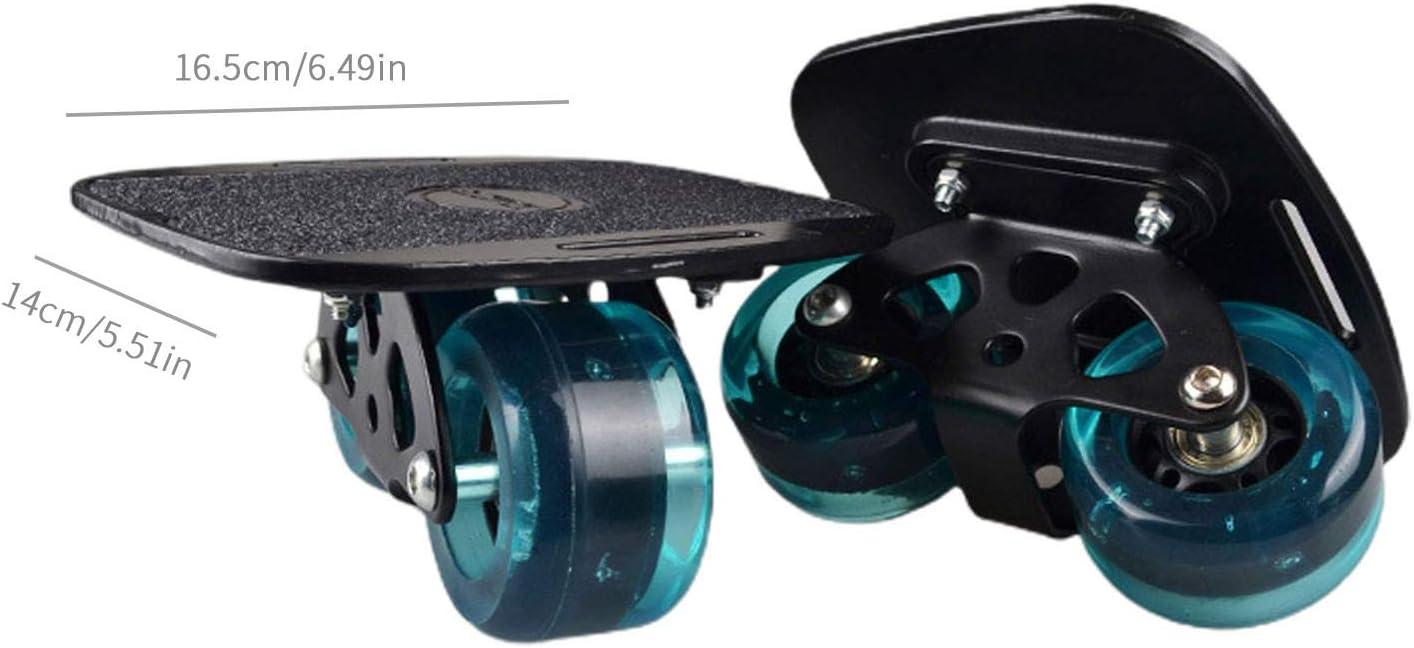 Driftboard Kinder Anf/änger Reise Pinsel Street Artifact Split Skateboard Shunfaji Drift Skates Freeline Tragbare Anti-Slip Professionelle Erwachsene Roller Board