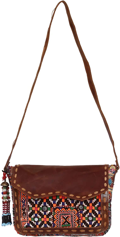Women Leather Handbag Shoulder Ladies Purse Messenger Satchel Crossbody Bag Brown