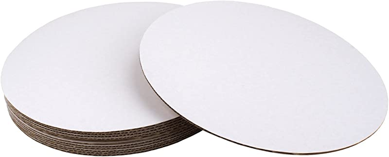 16 Round Coated Cakeboard 12 Ct