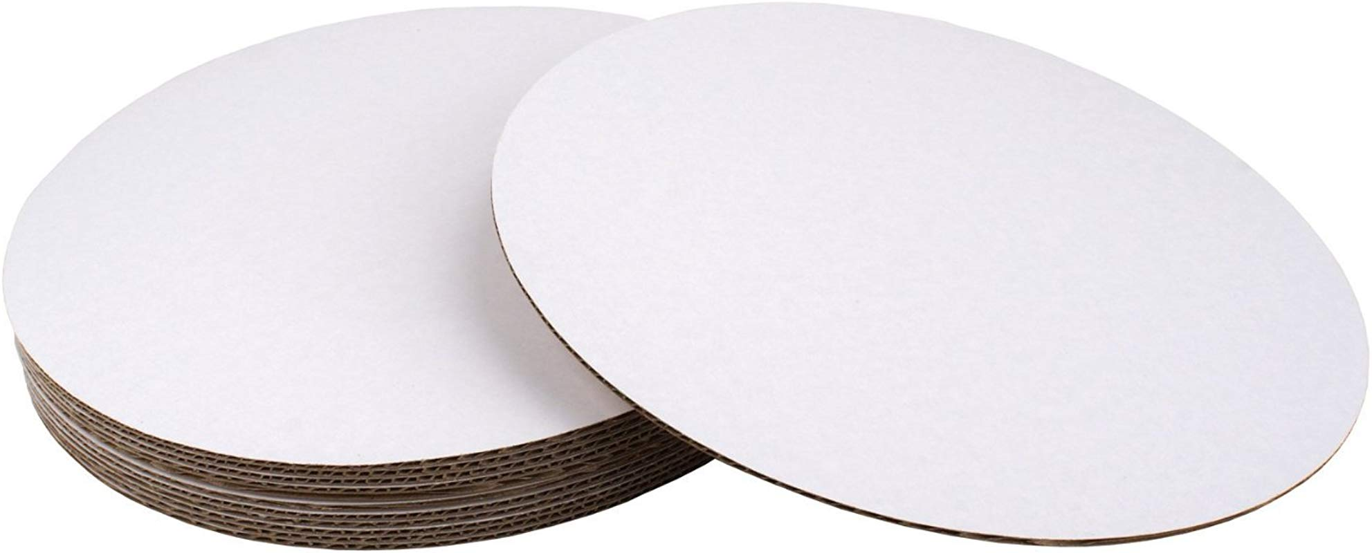 10 Round Coated Cakeboard 100 Ct