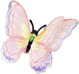 p/úrpura XiAnYeMa Pegatinas de la Mariposa 3D Haciendo Pegatinas Pegatinas Manualidades Mariposas 12pcs