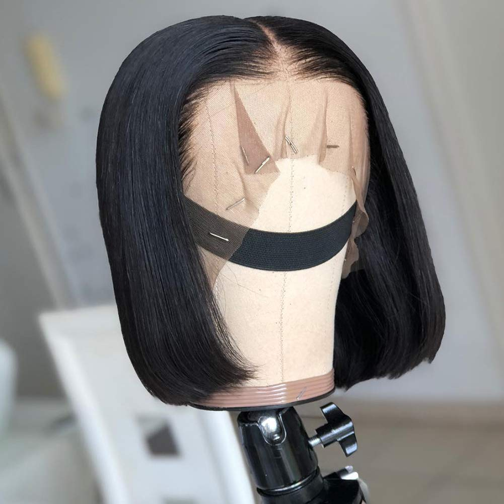 Silky Straight Human Hair Small Cap Now free shipping Full shopping Pre Lace Wigs Plu