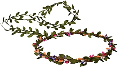 Love Sweety Flower Berries Crown Headband for Wedding Festivals HH7