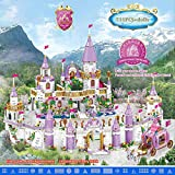 Princess Series Castle Building Blocks Magical Ice Castle, Friends Girls Children's Educational Toys