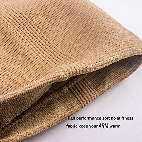 Senston 1 Stück Ellenbogenbandage – Atmungsaktiv/Schweiß absorbent/Beste Schutz für Ellenbogen – Ellbogenschützer Elbow Support Arm Sleeve Kompression Armstulpe - 3