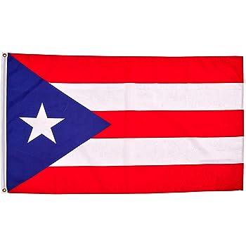 Puerto Rico Flag Puerto Rico Boricua 3x5 Feet Flag