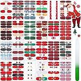 24 Sheets Christmas Nail Polish...