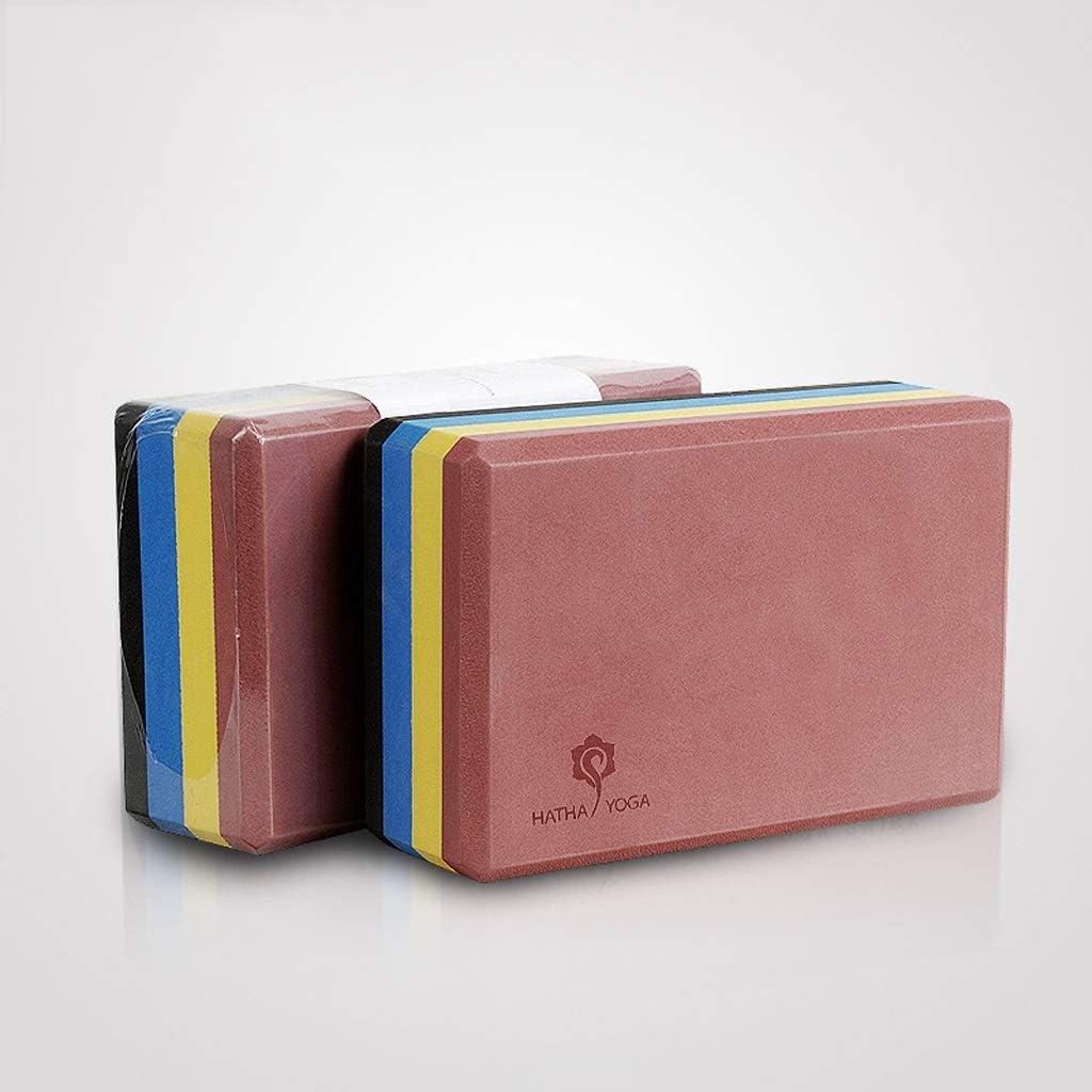 DLT Multi-Color Stitching Yoga Brick Blocks EVA Direct sale of manufacturer Non-Slip Foam Y NEW before selling ☆