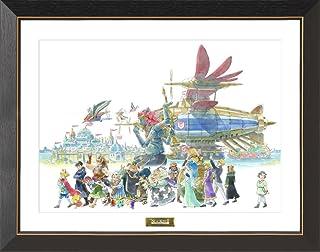 【Amazon.co.jp限定】二ノ国II A3キャラファイングラフ「英雄たちの行進」