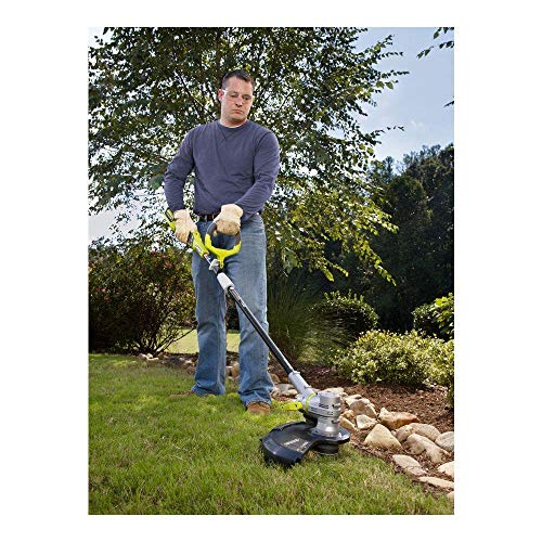 Ryobi RY40201A 40-Volt Baretool Lithium-Ion Cordless String Trimmer/Edger - Battery and Charger Not Included (Renewed)
