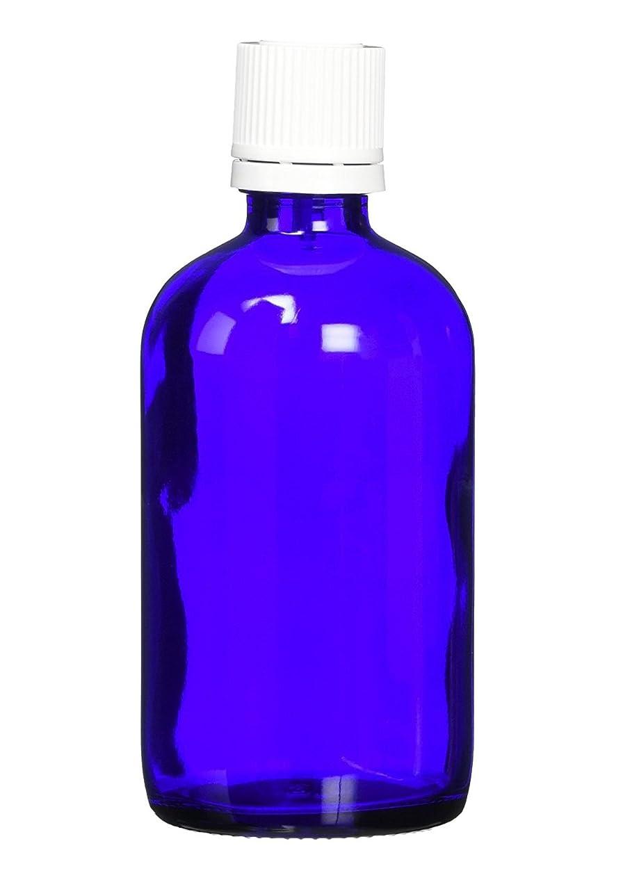 ボタン提供されたおしゃれなease 遮光ビン ブルー 100ml ×5本 (国内メーカー)