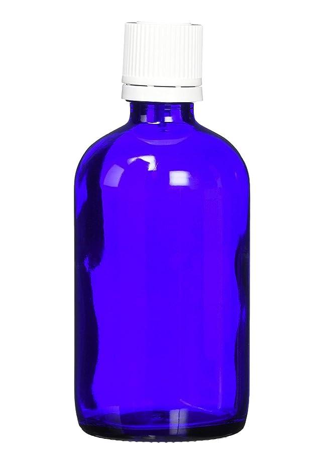 メナジェリーお風呂を持っている結晶ease 遮光ビン ブルー 100ml×50本