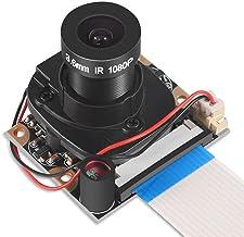 Dorhea Raspberry Pi 4 B 3 B+ Camera Module Automatic IR-Cut Switching Day/Night Vision Video Module Adjustable Focus 5MP O...
