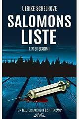 Salomons Liste: Ein Eifelkrimi -10- (Ein Fall für Ilka Landwehr & Alex Stettenkamp) Kindle Ausgabe