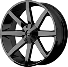 KMC Wheels KM651 Slide Gloss Black Wheel With Clearcoat (20x8.5