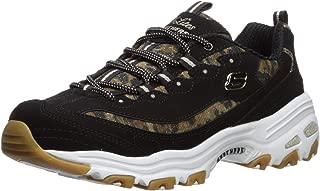 Skechers Women's D'Lites-Quick Leopard Sneaker