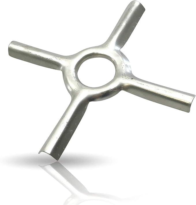 Kerafactum Accesorio para cocina de gas, accesorio para cocina de gas, estrella reductora para hornillo de camping, posavasos ideal para ollas y ...