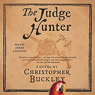 The Judge Hunter audiobook cover art