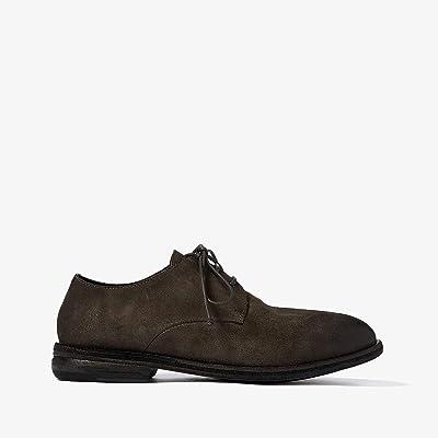 Marsell Soft Suede Oxford (Grey Suede) Men