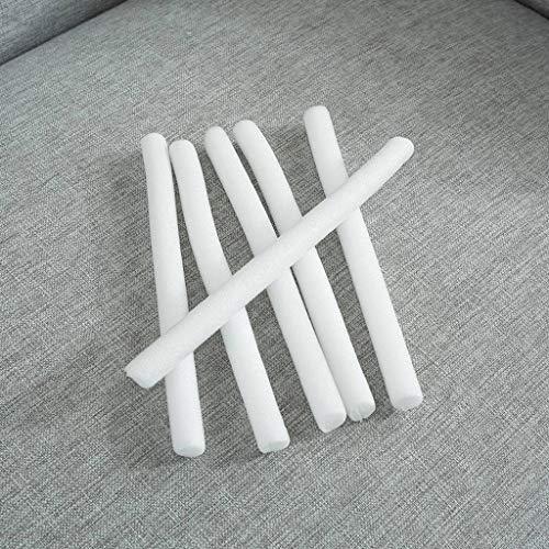 MO&SU Anti-Rutsch Schaumstoffstreifen für Elastischer Sofa Abdeckung, Sofabezuggriff Sofabezug Integrative Antirutschstange - 500cm(197inch)-Durchmesser25mm