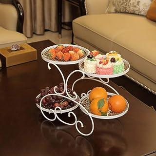 Fruit Basket Holder Countertop et décoration de table Bowl Pied -De Parfait for les légumes, des collations, des articles ...