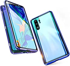 Front Tempered Glass + Back Tempered Glass Huawei Honor 8X Case Metal Frame 360° Full Cover Magnetic Adsorption All-Around Protection