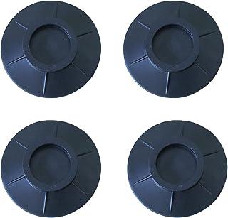 4 Pièces Coussinets de Machine à Laver, Amortisseurs Lave Linge,Support de Machine à Laver à Suppression de Chocs et de Br...