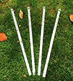 Goognice UniExtra Fence Post Repair Stakes (to Fix Broken Post) (Pack of 4)