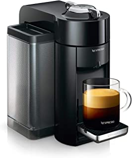 De'Longhi Nespresso Vertuo Plus ENV 135.B kaffekapselmaskin (perfekt kräma tack vare Centrifusionsteknik, 5 koppstorlekar,...