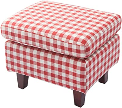 Pleasing Amazon Com Kathy Kuo Home Laurel Lodge Red Plaid Stripe Bralicious Painted Fabric Chair Ideas Braliciousco