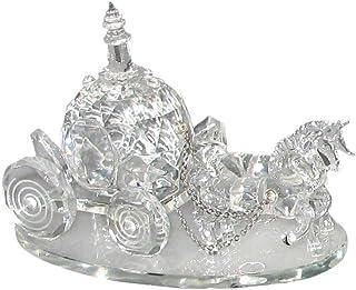 Godinger Crystal Coach Figurine