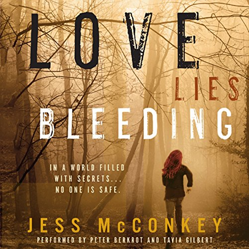 Love Lies Bleeding audiobook cover art