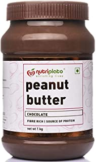 Nutriplato-enriching lives Choclate Peanut Butter Creamy 1 Kg - ; Source of Protein