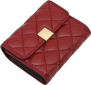 Leather Card Holder,Cowhide Holder Case Elegant Credit Card Organizer for Women