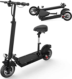HAPICHIL Electric Scooter, Foldable Electric Scooter Adults with Removable Seat, 500W/1000W Motor, Speed 25 MPH & 19/28/40...