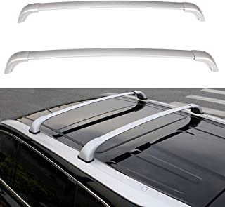 ECCPP Roof Rack Cross Bars Luggage Cargo Carrier Rails Fit for 2014 2015 2016 2017 2019 Toyota Highlander Sport Utility,Aluminum