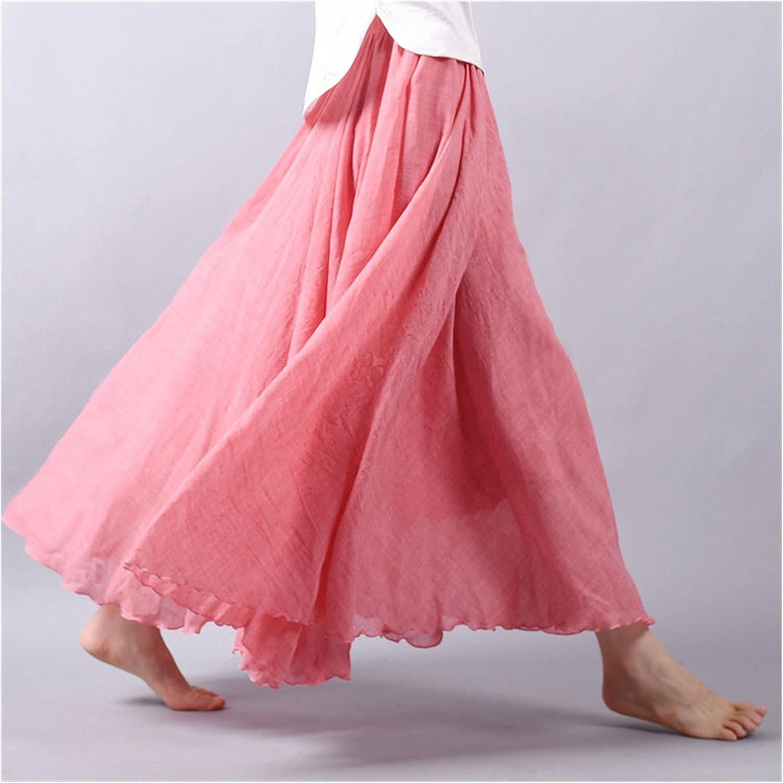Uongfi Wedding Dresses for Bride Skirts Max 78% OFF Women Cotton Long 35% OFF Linen