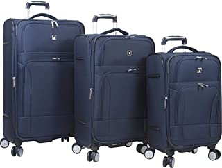 Dejuno Symphony Lightweight 3-Piece Spinner Luggage Set