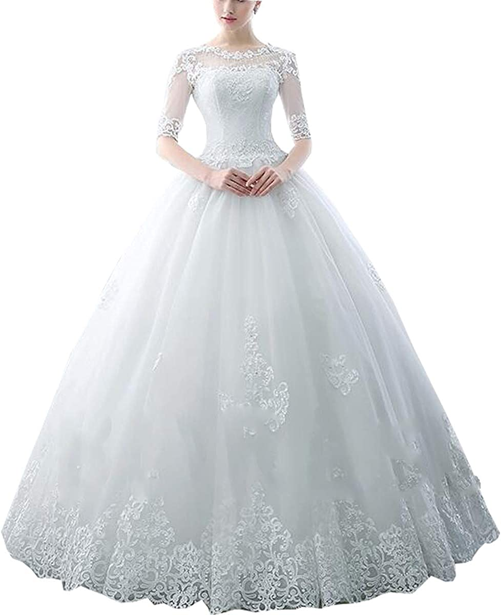 yangsijin 2021 Women's Tulle Appliques Ball Popular products Courier shipping free shipping Beading Sleeves Half