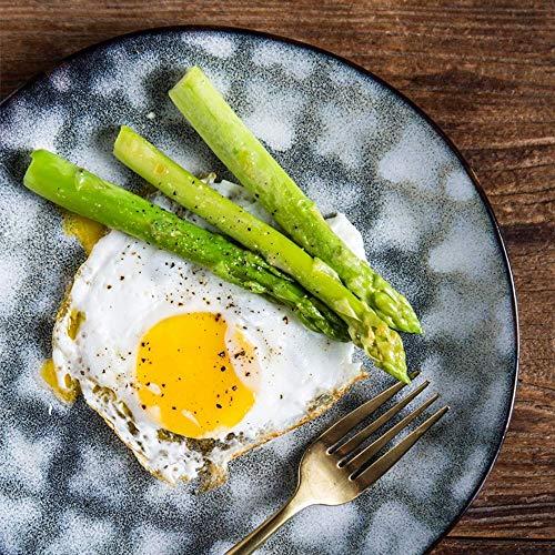 Canju Geschirr/Besteck/Outdoor/Camping Geschirr Vierblättriges Kleeblatt Flacher Teller Home Dining Dish Creative Disc Steak Dish Teller im westlichen Stil