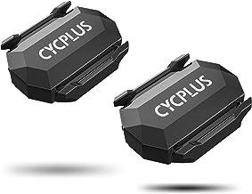 CYCPLUS 2 stuks fiets trapfrequentiesensor en snelheidssensor dubbele module Bluetooth en ANT +