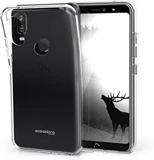 kwmobile Crystal Case for bq Aquaris X2 / X2 Pro - Soft Flexible TPU Silicone Protective Cover - Transparent